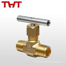 """1/8 """"- 2"""" hydraulic standard needle control valve for gas"""