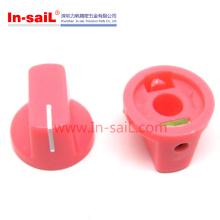 Potentiometer Volumen AMP 6mm Red Rubber Knobs