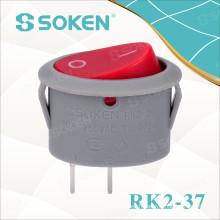 Oval Rocker Switch