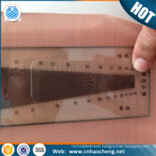 Emi electromagnetic shielding product copper mesh fabrics