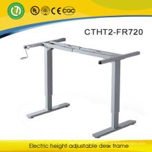 Adjustable height metal table modern design furniture computer table alibaba express