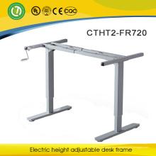 Регулируемая высота металлический стол современный дизайн мебель компьютерный стол alibaba экспресс