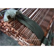 Liga plana de cobre Rod / barra para Industrial