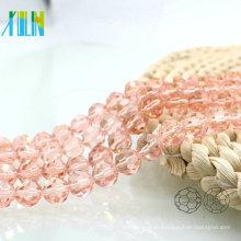 A5000 # -2 Cor Especial Rosa 32 Facetado Futebol Rodada De Vidro Frisado Cortinas de Cristal Pop Beads