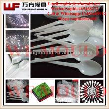 Máquina de moldeo por inyección para molde de cuchara / 2017 nuevo diseño Molde de cuchara de inyección de plástico desechable / Molde de cuchara de cubiertos de plástico