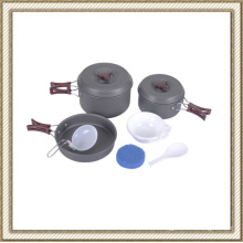 Hard Anodized Camping Cookware Cl2c-Dt1715-5