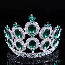 Зрелище Корона горный хрусталь Тиара Кристалл дамы короны