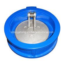 Обратный клапан с двойным пластинчатым клапаном с диском CF8m