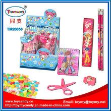 2016 heißer Verkauf Briefpapier Set mit Süßigkeiten