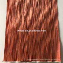Chapas de madera de caoba / chapa de haya de roble rojo / chapa de madera artificial