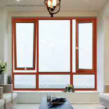 Fenêtre à battants en aluminium standard australienne et européenne pour la maison (FT-W80)