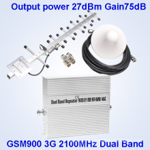 900 2100MHz 2g 3G Cell Phone Signal Booster/Signal Repeater/Amplifier GSM