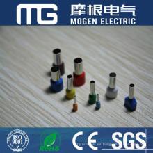 Terminales aislados de nylon de la serie TE Terminales dobles aislados del extremo del cable del tubo de cobre Precio bajo de alta calidad