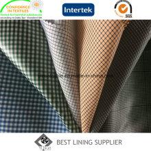Полиэфирные Men′s классический Check куртка подкладочные ткани фирмы