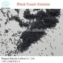 muela abrasiva alúmina fundida negro para pulir polvo de alúmina