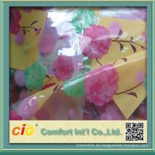 Película de PVC de alta calidad de China para la impresión del paño de tabla