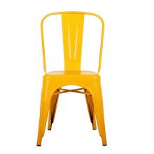 Kindergarten School Furniture Metal Chair With Cushions