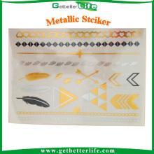 OEM & ODM disponível getbetterlife adesivo metálico