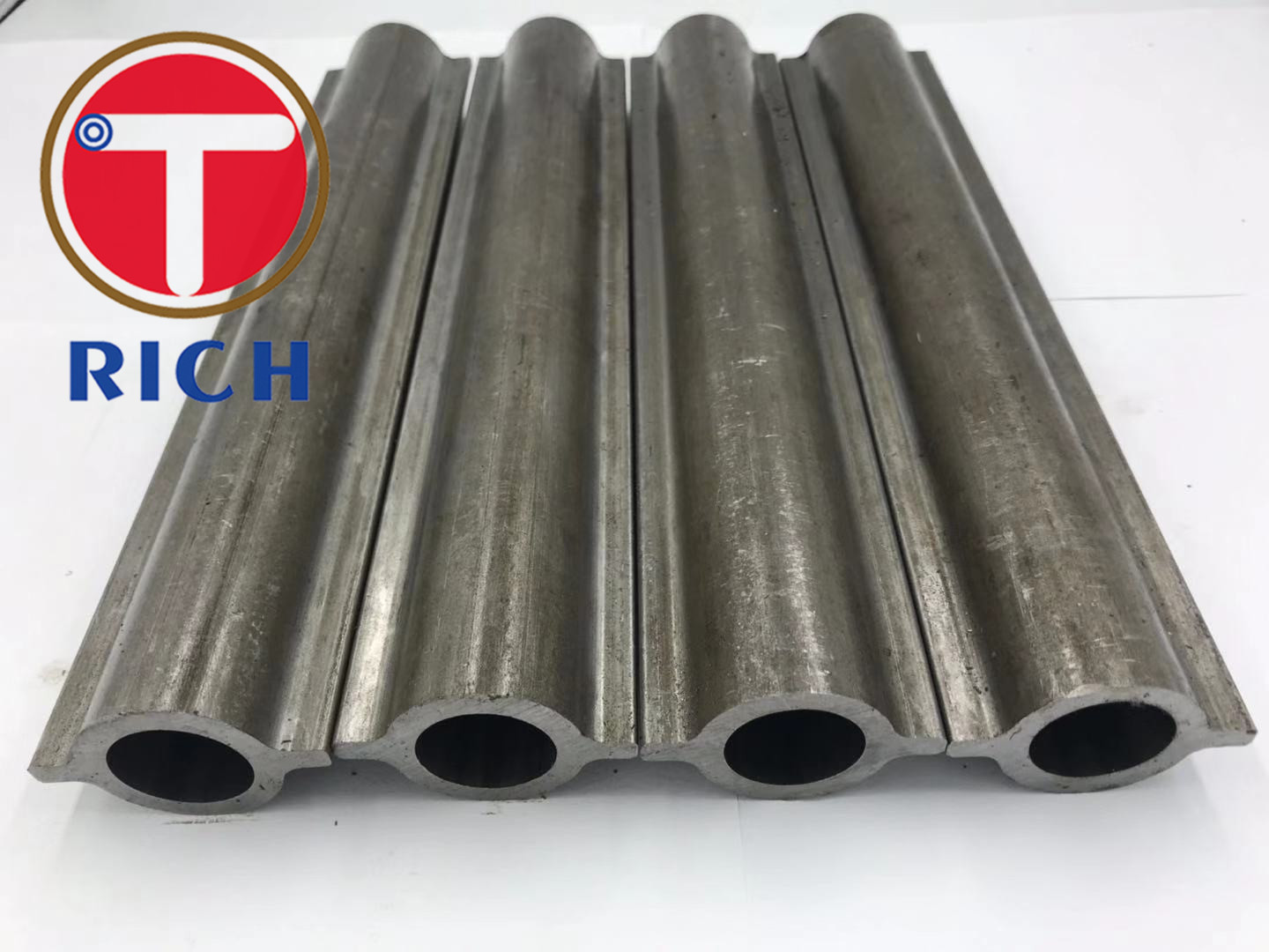 SA192 Profile Seamless Cold Drawn Shaped Carbon Steel Two Fins Pipe Round Boiler Finned Tube