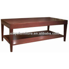 Двухуровневый прямоугольный деревянный чайный стол / журнальный столик XY0867