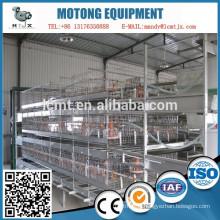 Chine cages de batterie de volaille entièrement automatique usine