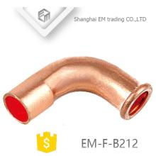 Encaixe de tubulação de cobre de EM-F-B212 90 graus de cotovelo para o condicionador de ar