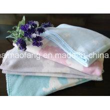 Manta de bebé 100% algodón con diseño Jacquard