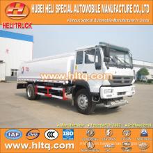 SINOTRUK HOWO 4X2 266HP WD615.92 engine 13000L acid liquid transport tank truck for sale , china factory supply