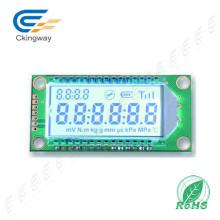 Stn LCD Gelb-Grün Transflektiv COB Zeichen LCD 128X122 LCD-Modul