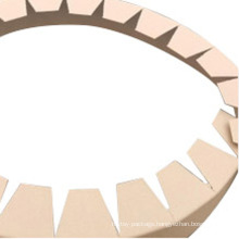 Wear resistant and anti-collision circular packaging corner protection