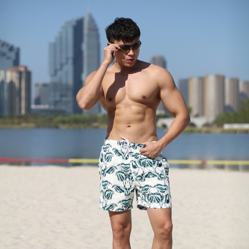 120GSM 100% Polyester Digital Print Man′s Swimshort