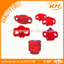 Fiches rotatives pneumatiques API 7K Oilfield, glissières pneumatiques PS, patins pneumatiques
