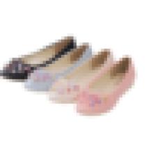 2016 hochwertige Damen Leder Falt Schuhe Frauen flachen Schuh