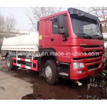 HOWO 4X2 10000L Caminhão-tanque de água 10cbm Caminhão-tanque