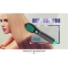 Batterie sans fil rechargeable Brosse à cheveux Straightener