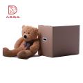 Fabrik OEM Einweg benutzerdefinierte Quadrat Stofftier Verpackung Box