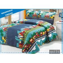 Capa de cama 100% algodão com estampa de desenhos animados (colcha)