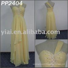 2011 free shipping high quality chiffon beaded strapless beaded elgant evening dress 2011 PP2404