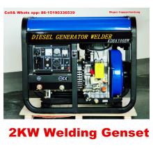 Nuevo generador de soldadura del diseño 2kw el precio bajo y el mejor servicio