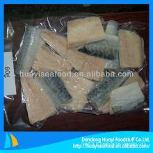 Filet de maquereau emballé sous vide congelé