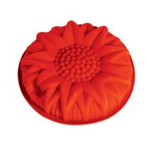 LFGB Customized Colorful Flower Silicone Cake Mould