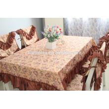 Фарфоровая ткань Minimatt декоративная круглая скатерть