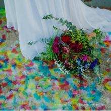 Rectangle biodégradable de papier de confettis ECO-friendly de vente chaude