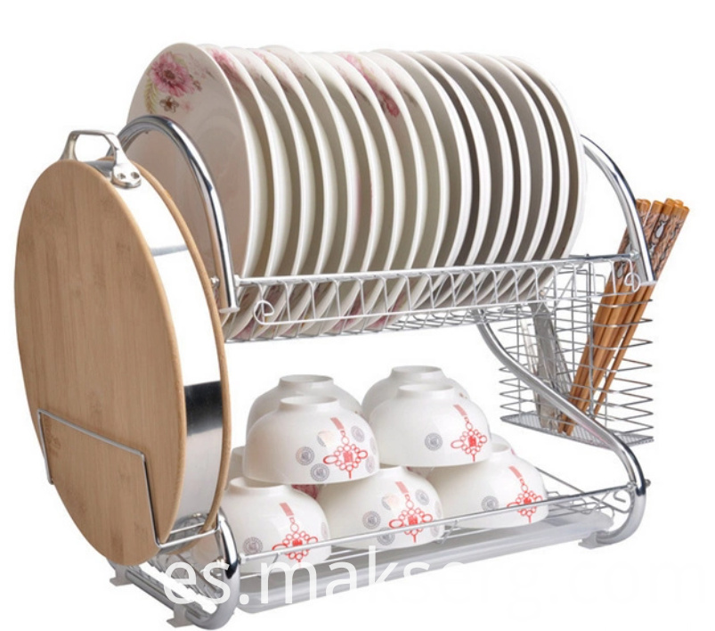 Hardware raw materials are used to make dish drain racks