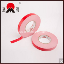 Red Film Double Sided Adhesive Pet Foam Tape