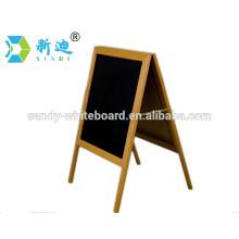 Factory direct standing wooden blackboard