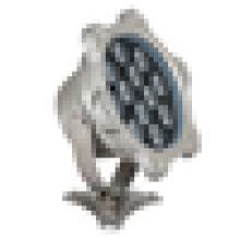 AC DC 24V 12W en acier inoxydable conduit fontaine éclairage lampe de jardin IP68