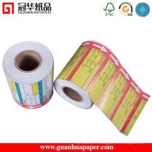 Étiquette d'étiquette thermique directe SGS Hot Sale
