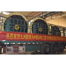 Correia transportadora de cordão de aço TBM ST1250