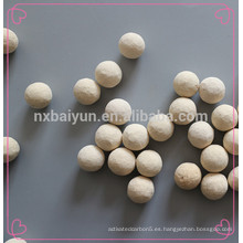 Material de molienda de cerámica 68% Bola de alúmina intermedia